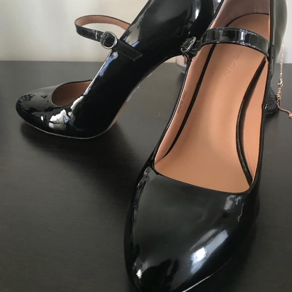 49b6a0dd395d Halston Heritage Shoes - Halston Heritage Patent Leather Mary- Jane style